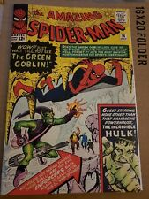 Amazing Spiderman 14 Cover with Vintage Reprint 1st Green Goblin REPRINT