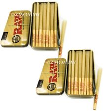 Raw Classic King Size Cones 30 count with 2 Raw Tin Carrying case