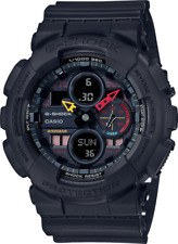 G-Shock GA140BMC-1A Ana-Digital Tokyo Street Scene Jet Black Neon Flash Watch