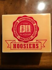 Vintage Reuge Music Box Indiana University Hoosiers. Mint Condition!