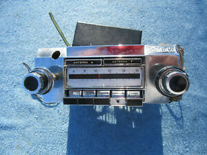 1966 1967 LINCOLN CONTINENTAL OEM RADIO (FOMOCO)