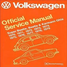 Volkswagen Super Beetle, Beetle & Karmann Ghia Official Service Manual: 1970,...