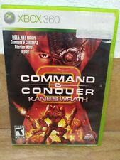 Command & Conquer 3: Kane's Wrath (Microsoft Xbox 360, 2008)