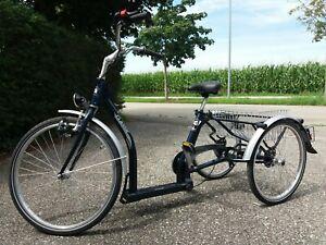 Fahrrad / Dreirad Pfau Tec Classic blau wie neu. Top Therapierad. Für Senioren.
