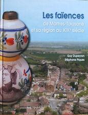 Livre sur les faïences de Martres-Tolosane au XIX ème siècle canard de malade