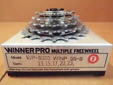 New-Old-Stock Suntour Winner Pro 5-Speed Freewheel (13x23) w/Silver Finish