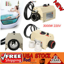 3000W 220V Swimming Pool & Bath SPA Hot Tub Electric Water Heater Thermostat