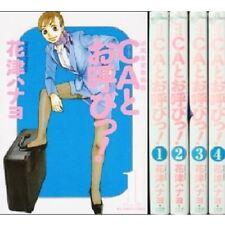 Japan Comic CA to Oyobi ! VOL.1-4 Comics Complete Set F/S