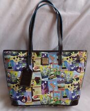 Disney Epcot 16 Food And Wine Festival Dooney & Bourke Shopper Tote Purse Bag 2