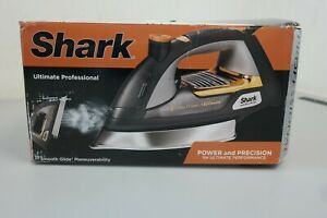 Shark Ultimate Professional Steam Iron with Cord, Silver Chrome, GI505WM (10D)