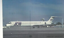 AOM French Airlines  McDonnell Douglas MD-83  Orly Paris  Unused PC 994 Plane
