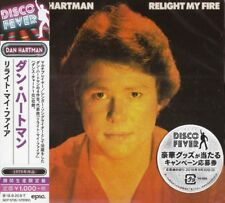 "DAN HARTMAN - RELIGHT MY FIRE 2018 JAPANESE CD 1979 ALBUM + BONUS 12"" MIXES !"