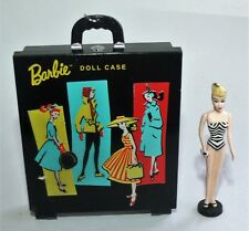 Hallmark Keepsake BARBIE BLACK CASE & DOLL CHRISTMAS ORNAMENT 1999 mini Mattel