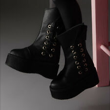 Dollmore BJD MSD - High Storm Boots (Black)