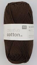 Rico Design rico Baby Cotton Soft DK lana 50g color 052 rosa pálido