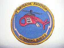 "US 4th Infantry Division 1st Brigade Aviation ""HUMMING BIRDS"", Vietnam War Patch"