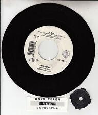"R.E.M. (REM)  Daysleeper 7"" 45 rpm vinyl record + juke box title strip NEW RARE!"