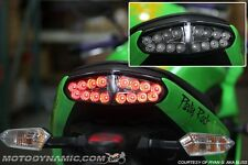 09 10 11 Kawasaki Ninja 650R ER-6n INTEGRATED Turn Signal LED Tail Light SMOKE