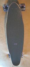 """Blank """"Bullet"""" Concave Longboard Complete Skateboard Deck w/ Randal 180mm Trucks"""