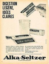 PUBLICITE  1966   ALKA-SELTZER
