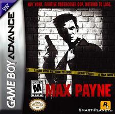 Max Payne GBA New Game Boy Advance