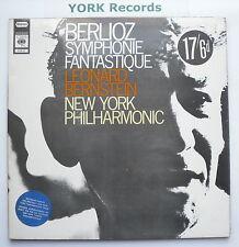 SPR 21 - BERLIOZ - Symphonie Fantastique BERNSTEIN New York PO - Ex LP Record