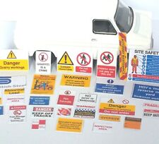 240 signs for 00 gauge track side industries, warehouses, depots, buildings