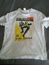 Vintage Rollerball Camiseta Punk Skate Stussy Casuals Ultras XL 1970s película TOKIO