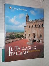 IL PAESAGGIO ITALIANO Idee Contributi Immagini TCI 2000 libro di viaggi manuale