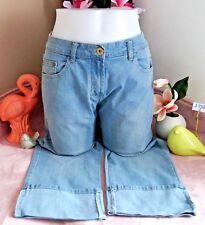Vêtement Occasion femme ... Pantacourt en Jeans ... T   40 c18ff041874b