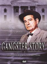 *** Gangster Story (DVD, 2004) NEW!!! Walter Matthau, Carol Grace