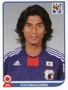 Panini Sticker Fußball WM 2010 Nr. 376 Yuij Nakazawa Japan Bild NEUWARE Worldcup
