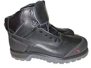 New Red Wing (ASTM F 2413-18) Made in USA Steel Toe working Boots Black Size 12