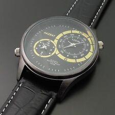 Akzent Armbanduhren mit 12-Stunden-Zifferblatt für Herren