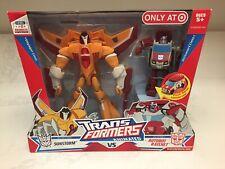 Transformers Animated - Sunstorm vs Ratchet 2008 Target Exclusive (MISB)