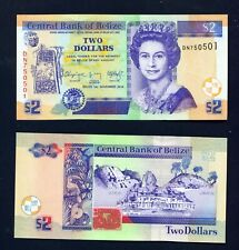 BELIZE - 2014 $2  UNC Banknote