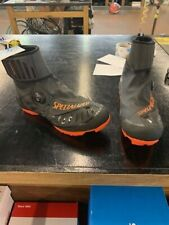 Specialized Defroster Cycling Mountain Shoes- Men's- Black/Orange- Size 44