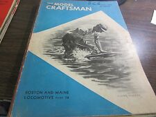 THE MODEL CRAFTSMAN  - AUGUST  1947 - EXCELLENT