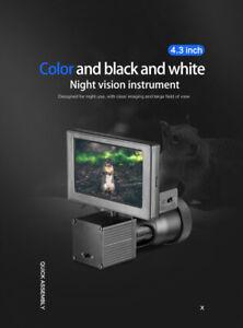 "4.3"" Screen HD 1080P Night Vision Scope Riflescope 850NM infrared Flashlight;"