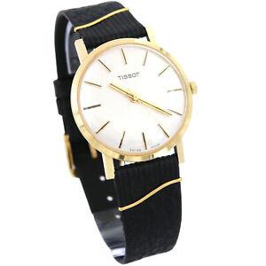 Vintage TISSOT Gelbgold 585/14K Armbanduhr Cal. 781-1 6351 um 1960