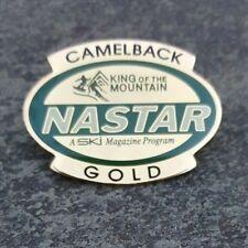 CAMELBACK GOLD NASTAR Mountain Resorts Skiing Lapel Hat Pin ~ Pennsylvania PA