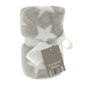 Baby Blanket throw 70x90cm fleece blanket pram cot plush Baby boy girl blanket