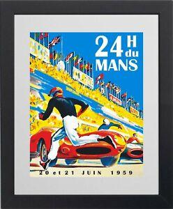 Vintage Le Mans 24 Hour Race picture poster 3 sizes TP263