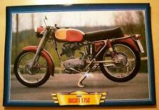 DUCATI 175 S 175 S CLASSIC MOTORCYCLE BIKE 1950'S PICTURE PRINT 1957