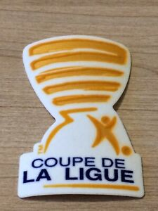 Patch Badge Coupe de la Ligue France 2010-2018 Ligue 1 et 2 vendeur pro