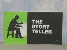 THE STORY TELLER  CHICK CHRISTIAN/ GOSPEL TRACT  1985   JACK CHICK PUBLICATIONS