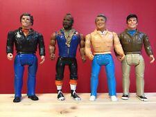 Vintage A-Team Action Figure lotto di 4 personaggi - Usato