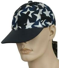 NEW VALENTINO BLACK&BLUE TECHNO LEATHER CAMUSTARS BASEBALL CAP HAT 58/M/L W/BOX