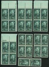 1956 3c US Postage Stamps Scott 1080 Harvey W Wiley Food Drug Laws Lot of 28