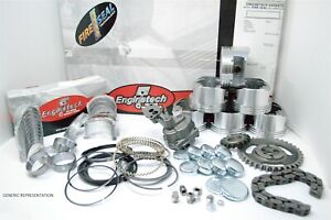 Fits 2004 2005 2006 Hummer H2 364 6.0L V8 LQ4 FLOATING PIN-ENGINE REBUILD KIT